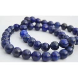 Bracelet Lapis Lazuli perles rondes 8mm