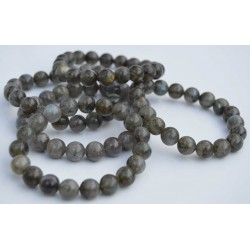 Labradorite bracelet perles rondes 8mm