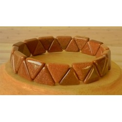 Bracelet Sunny stone triangle