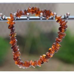 Bracelet Ambre perles baroques