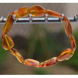 Bracelet Ambre miel