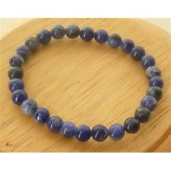 Bracelet Sodalite Perles rondes 6mm