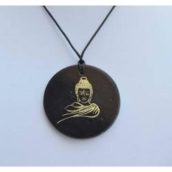 Pendentif Shungite Buddha