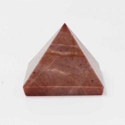Pyramide Jaspe rouge JR8