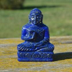 Bouddha Lapis-Lazuli 9.1cm