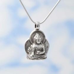 Pendentif Bouddha argent