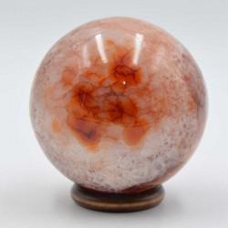 Cornaline sphère 02