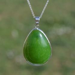 Jade du Canada pendentif A