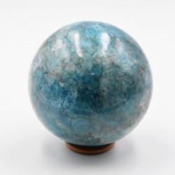 Apatite bleue  sphère ARC36