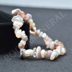 Bracelet Agate baroque