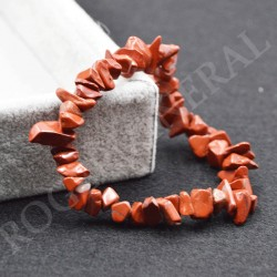 Bracelet Jaspe Rouge baroque