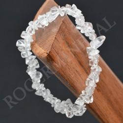 Bracelet Cristal de Roche baroque