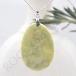 Pendentif Jade Citron