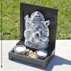 Ganesh résine couleur argent