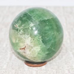 Fluorite verte sphère FLS10