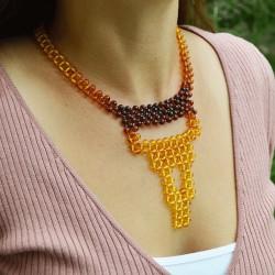 Ambre collier AMAR3