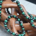 Bracelet Shungite et Malachite