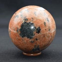 Calcite orange sphère  ARL38