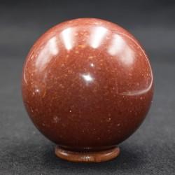 Jaspe rouge sphère ARG15