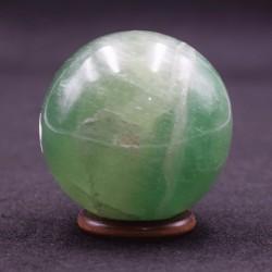 Fluorite verte sphère FLS1