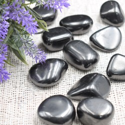 Sungite pierres roulées à l'unité