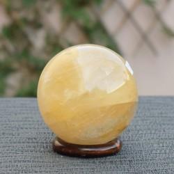 Quartz hématoïde Sphère ARL9