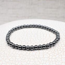 Bracelet Hématite 4mm