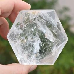 Hexagramme Cristal de roche HCR8