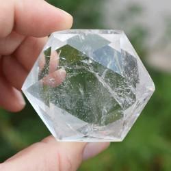 Hexagramme Cristal de roche HCR5