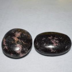 Rhodonite lot 2 galets ARB84