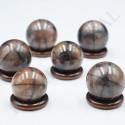 Sphères en Chiastolite