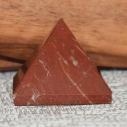 Pyramide Jaspe rouge JR6