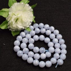Calcédoine naturelle perles 8 mm prix dégressifs