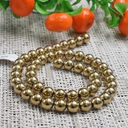Hématite façon dorée perles 8mm prix dégressifs