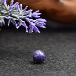 Charoïte naturelle perles 8mm prix dégressifs