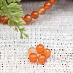 Cornaline naturelle perles 8mm prix dégressifs