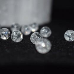 Cristal de roca natural perlas 8mm precios a escala