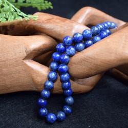 Lapis lazuli  naturel perles 8mm prix dégressifs