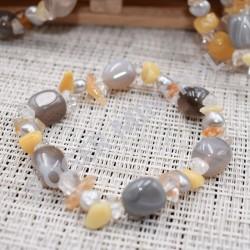 Bracelet Agate et d'autres pierres