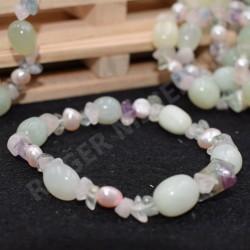 Bracelet Jade et autres pierres