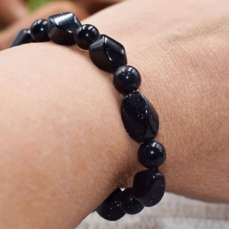 Bracelet Pierre de nuit free style