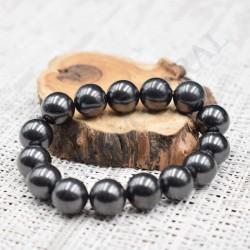 Bracelet femme Shungite 12mm