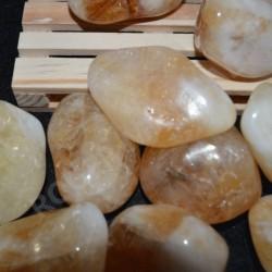 Citrino piedras rodadas unidad