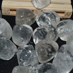 Cristal de roche pierres roulées à l'unité