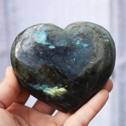 Labradorite bleue coeur ARD17