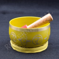 Bol chantant bronze Chakkra 3