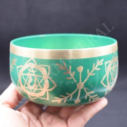 Bol chantant bronze Chakkra 4