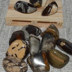 Jaspe Polychrome pierre roulée à l'unité