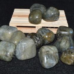 Labradorite pierre roulée à l'unité