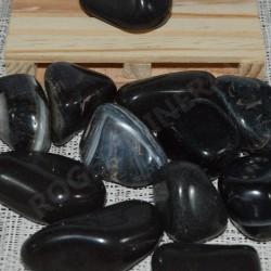 Onyx Noir pierre roulée à l'unité